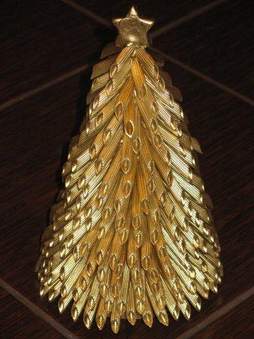 Красивые елки  из макарон